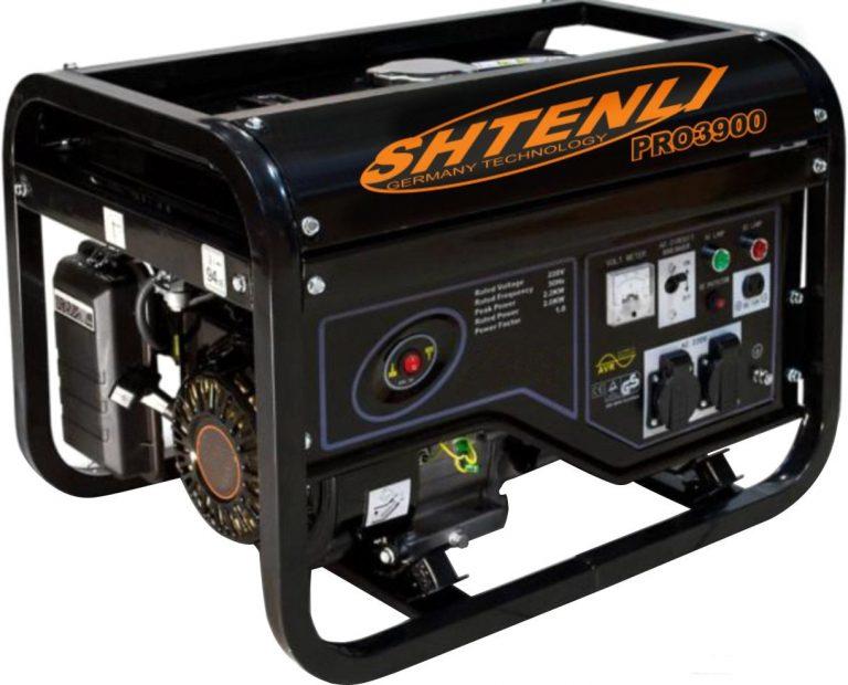 Бензиновый генератор Shtenli Pro 3900