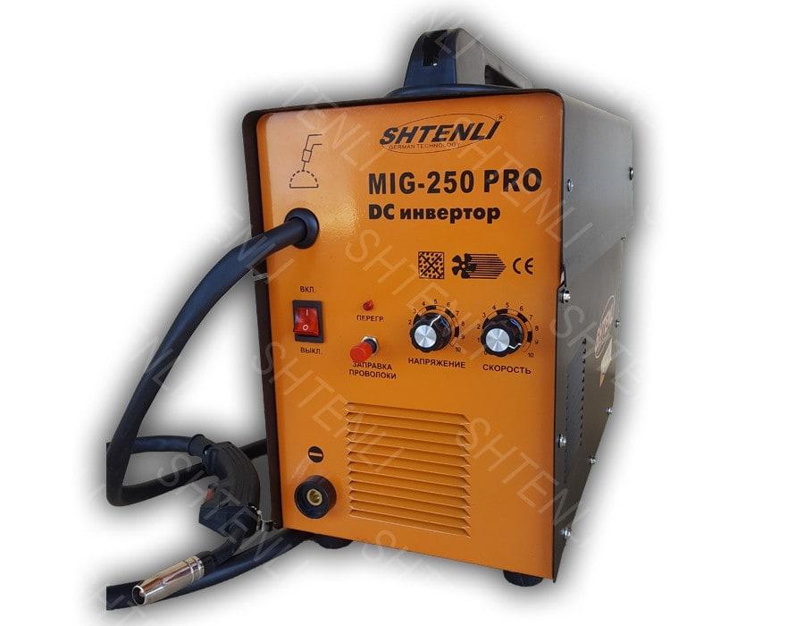 Полуавтомат сварочный MIG-250 PRO с боковой загрузкой