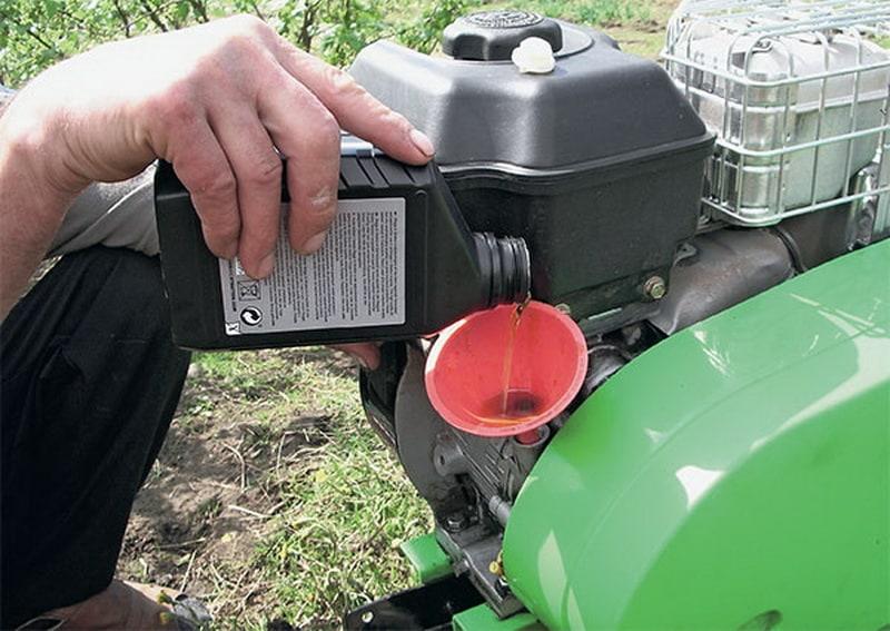 масло для дизельного мотоблока