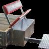 Прицеп к мотоблоку ТМ2500(Двухосный, оцинкованный)